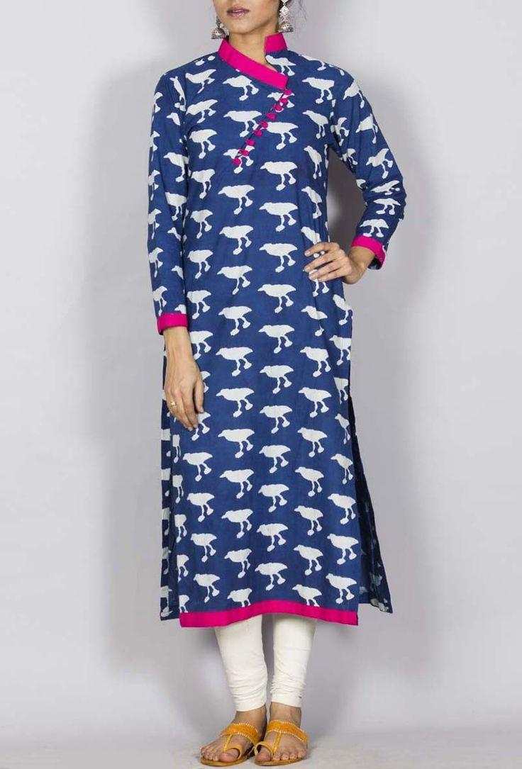 Palazzo skirt, palazzo pants | bagru kurta for women India | Tijori