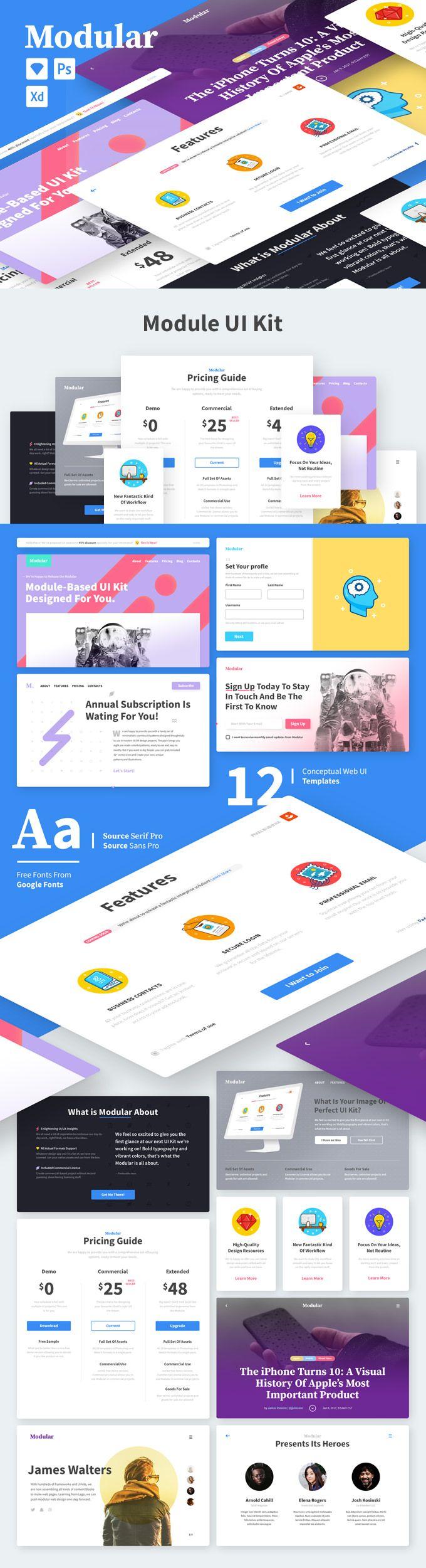 278 besten Web & UI/UX design Bilder auf Pinterest | Mock up, Uikit ...