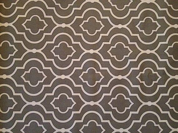 Fabric Baby Gate-Gunmetal Print