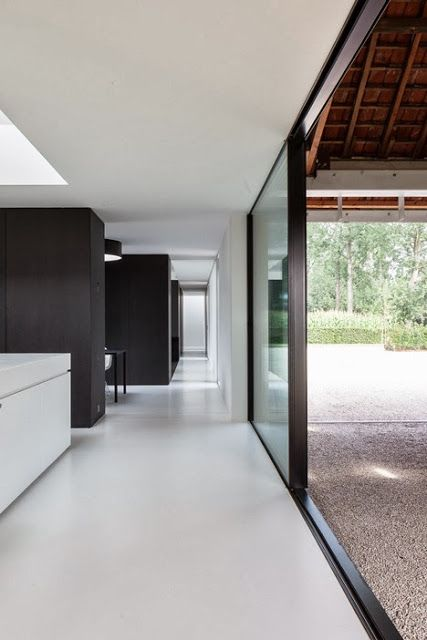 Simplicity Love: Single family house, Belgium | Pascal François Architects
