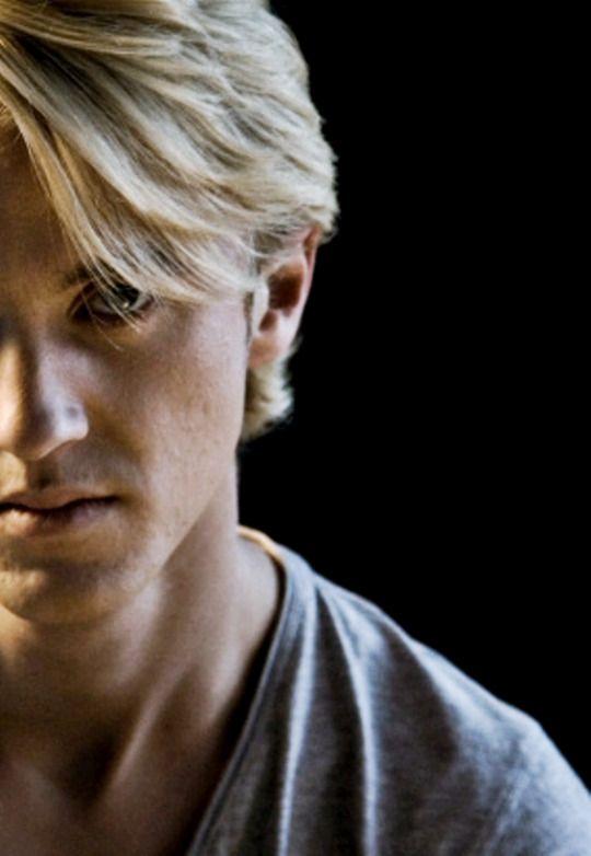 Tom Felton......the handsome gentle man.........or Draco Malfoy....the sexy bad boy? I love them both!