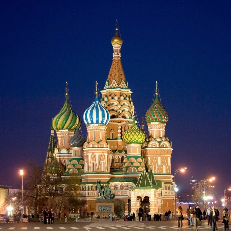 Moscow, Russia = #1 place I wanna go!
