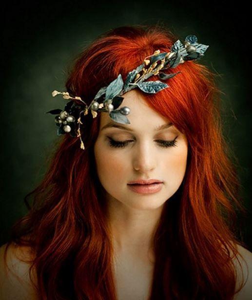 Bakır kızılı saç renkleri 2017 modelleri