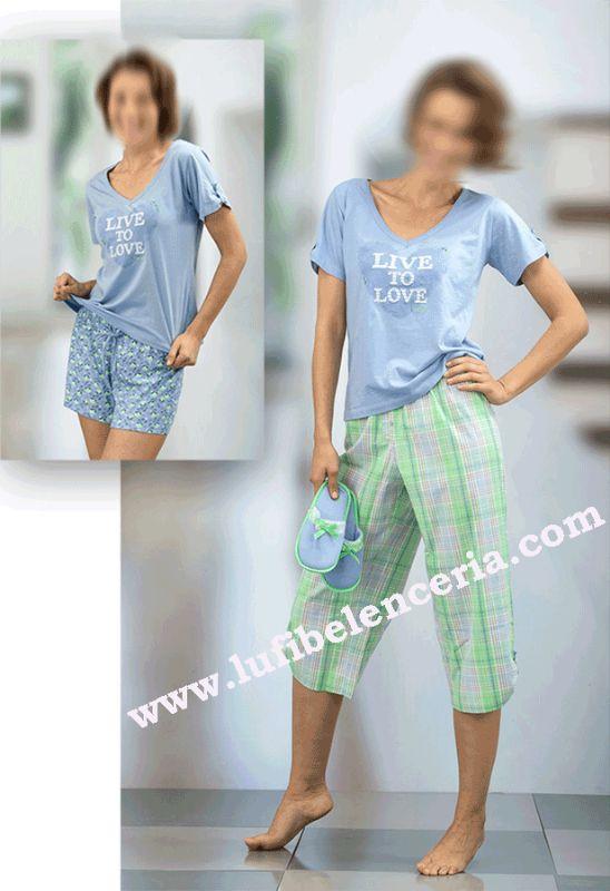 Pijama Massana 4 piezas