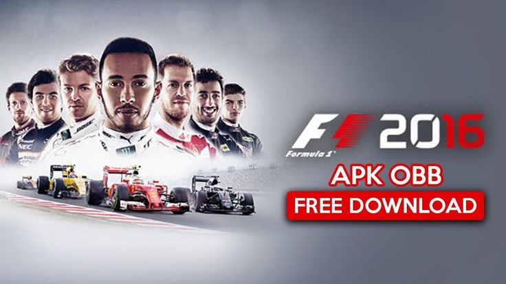 F1 2016 Apk OBB for Android free Download 2019 Latest