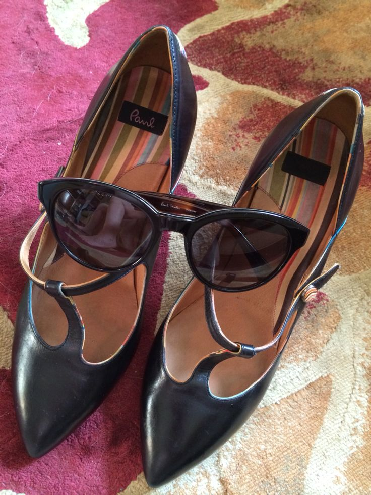 Paul Smith shoes and sunglasses