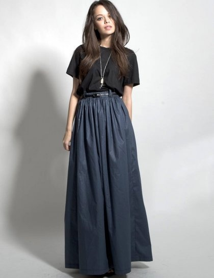 17 Best images about high waist maxi skirts ♥ on Pinterest | Long ...