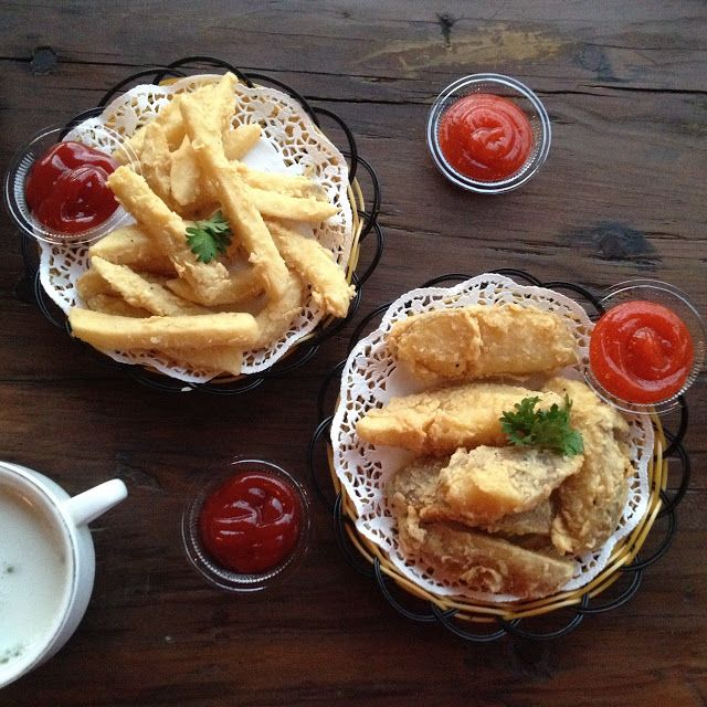 Butterfries & Potato wedges  The Localist Surabaya