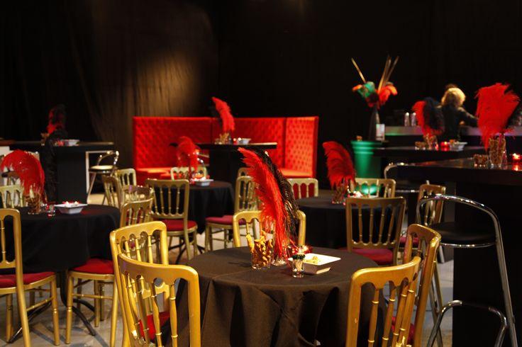 Burlesque... Een echte VIP party met glitter, glamour and cabaret. Een tikkeltje ondeugend maar super stijlvol!