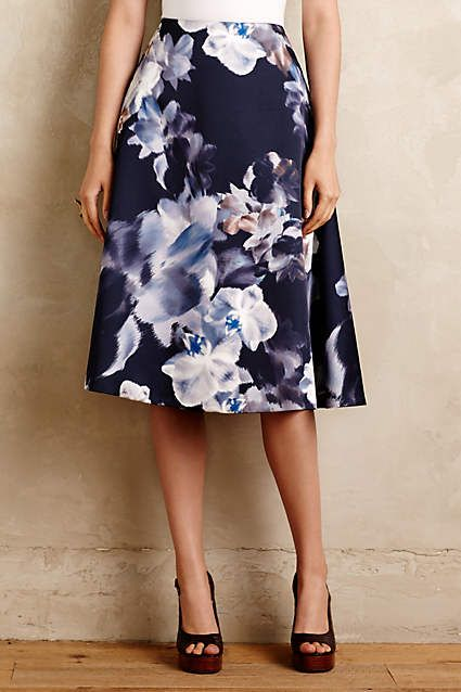 Floral Dreamscape Skirt - anthropologie.com