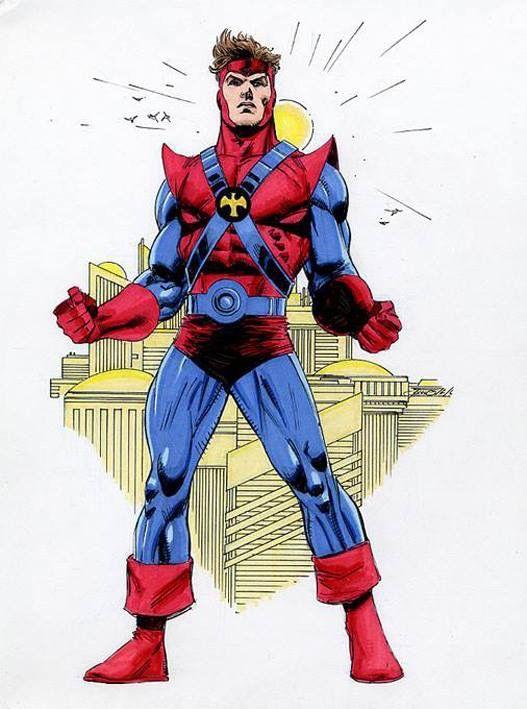 colossal boy gim allon by patrick olliffe legion of super heroes