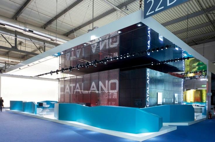 Salone Internazionale del Bagno 2012, Stand Catalano, design http://www.studiomartino5.it/