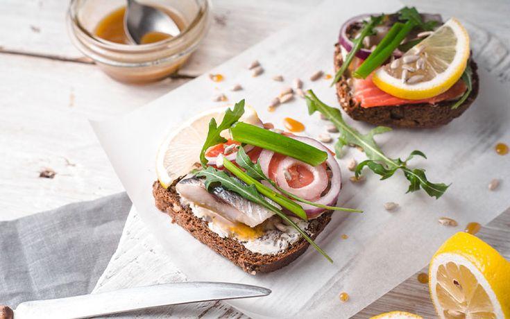 Panini+danesi+Smørrebrød+roast+beef+uova+salmone+vegetariano