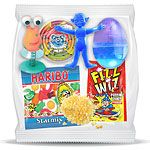 Great value pre-filled party bags for children's party's, ready for you to hand out to your guests from only 99p! Including sweets, stationery and great gifts