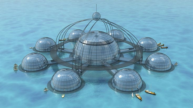 Here Now, the Totally Berserk Underwater City of the Future