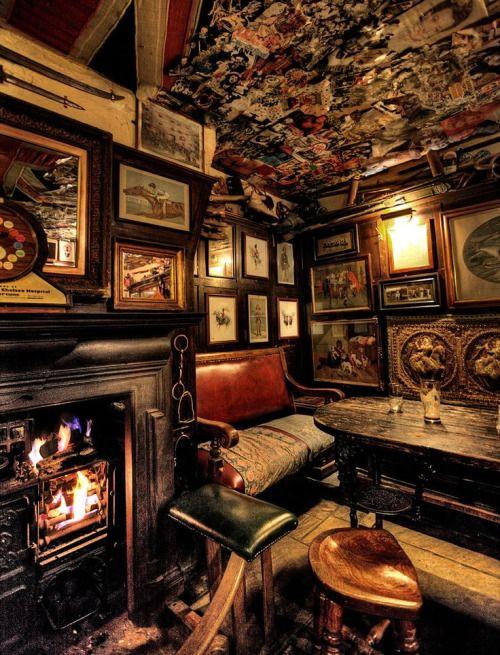 gatsbywise:  wasbella102:  One of London's Best Pubs, the Nags Head, Knightsbridge 53 Kinnerton St           Gatsbywise  Best-seat-in-the-house.