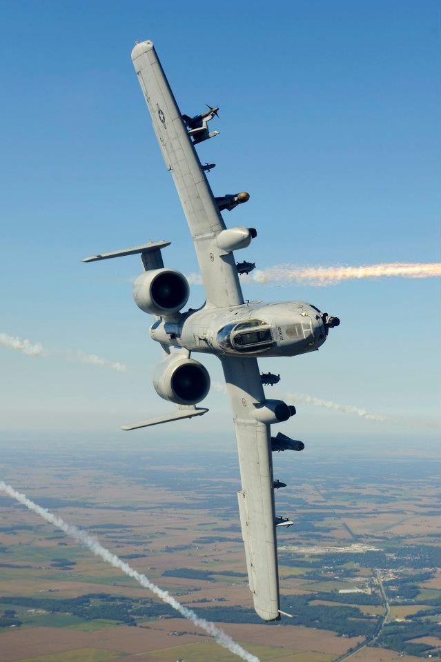 Military Aviation — titanium-rain: A-10C 82-0661 163 FS 122nd...