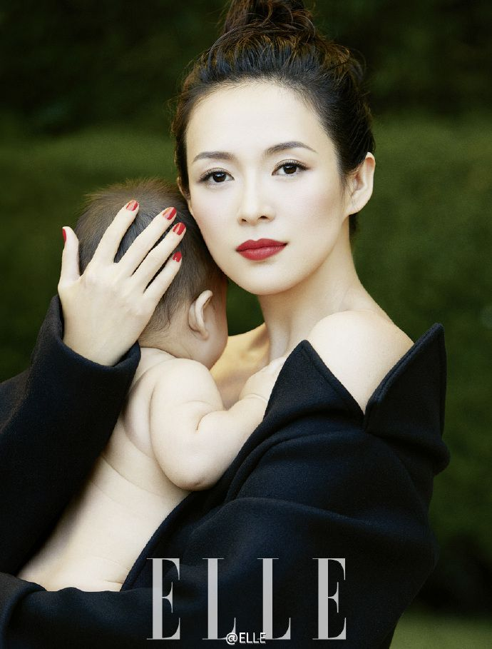 Zhang Ziyi appears on Elle magazine cover first time since giving birth