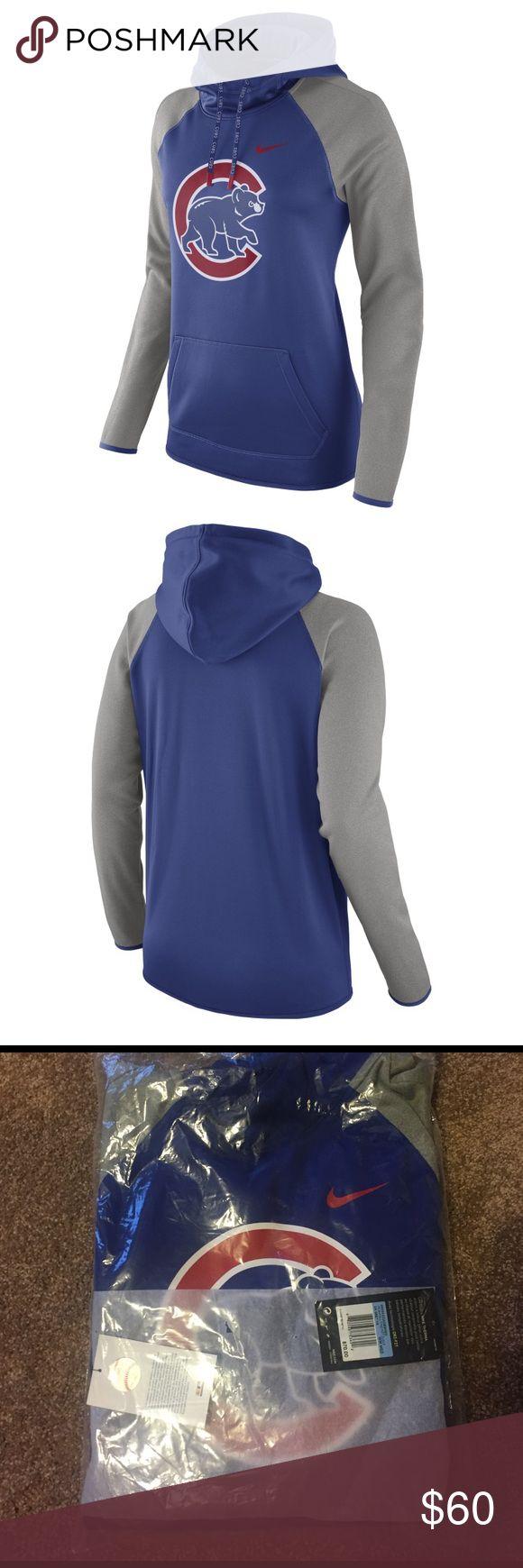 NWT! Chicago Cubs! Nike therma hoodie! Medium NWT! Chicago Cubs! Nike therma hoodie! Medium! Just in time for opening day!! Nike Tops Sweatshirts & Hoodies