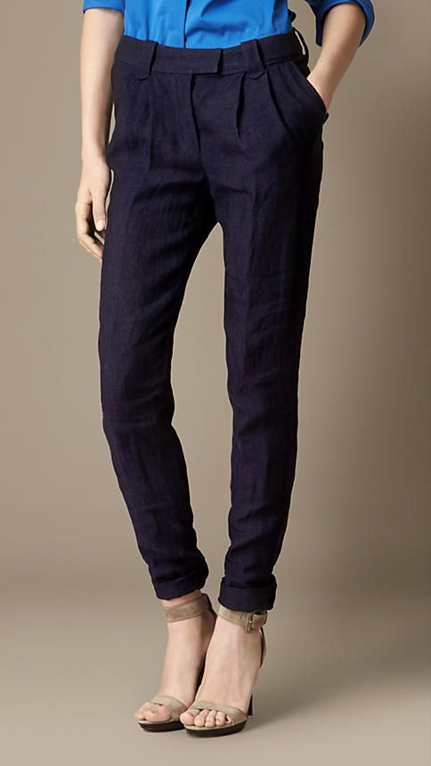 Tapered Military Trousers | Burberry