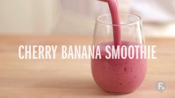 Cherry Banana Smoothie More