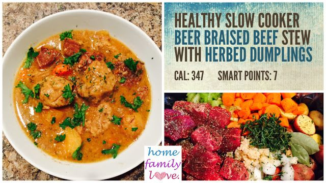Slow Cooker Beer-Braised Beef With Kale Recipe — Dishmaps