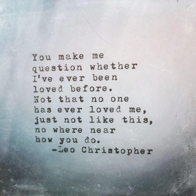 You Do • Leo Christopher • My book -> LeoChristopherPoetry.com