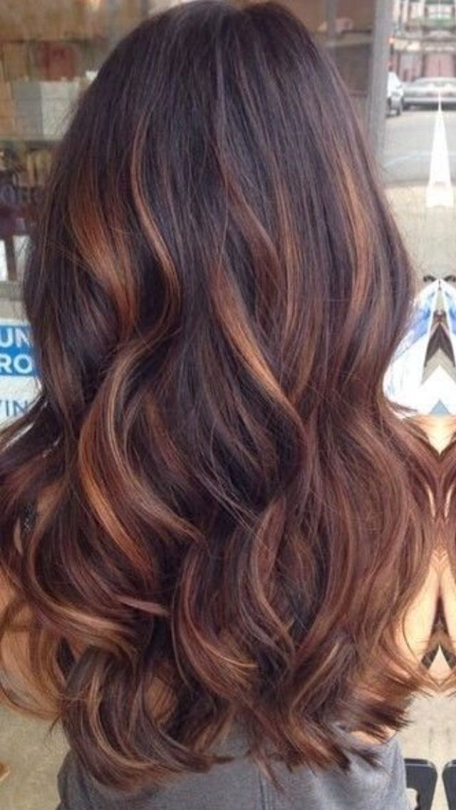 Chocolate Semirose Gold I Want Hair Like This Pinterest