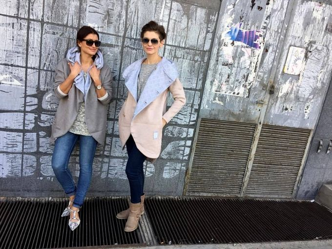 SECRET MONK coat - WOMAN / TINWARE GRAY - Sklep internetowy