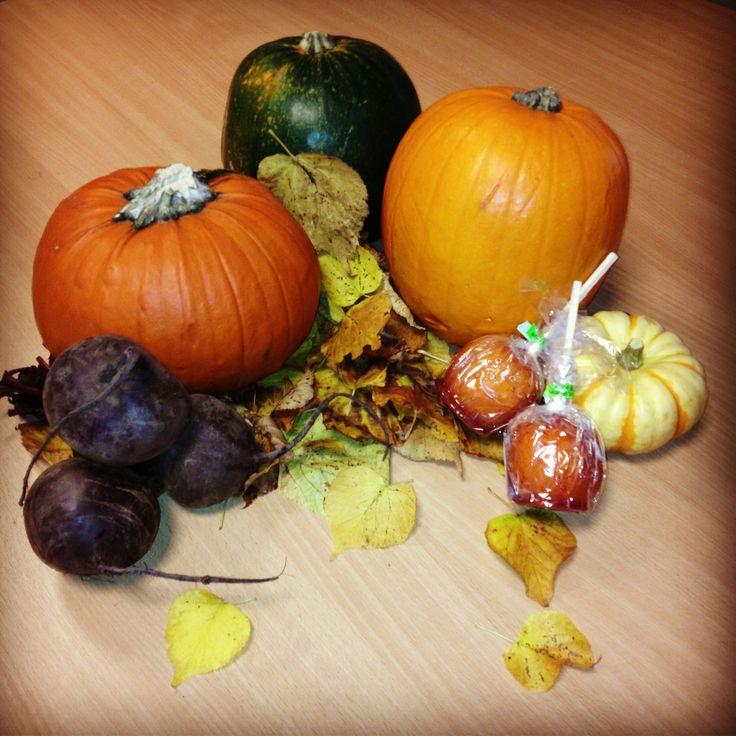 Autumnal earthy tastes