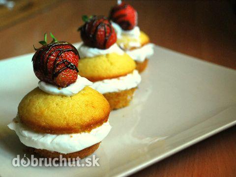 Fotorecept: Jahodové tortičky