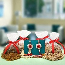 Send Rakhi to Canada - Online Rakhi gifts delivery in Canada