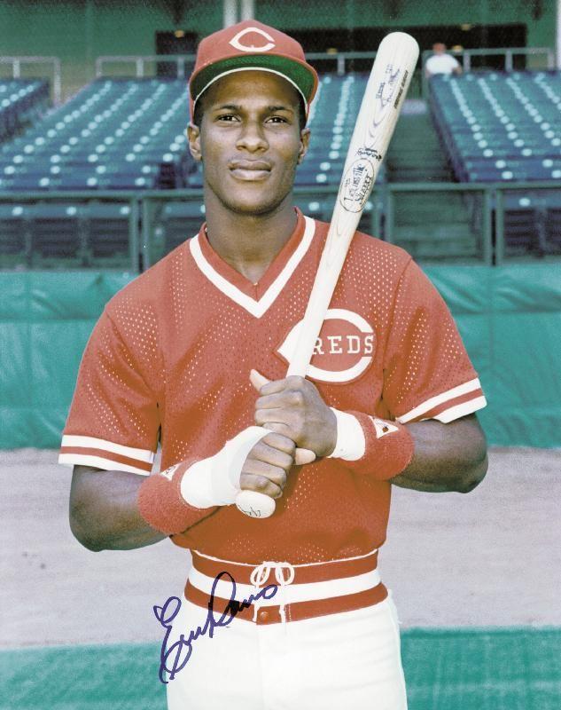 Eric Davis.  My favorite Cincinnati Reds player of all time.