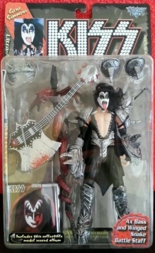 Kiss Action Figure - Gene Simmons