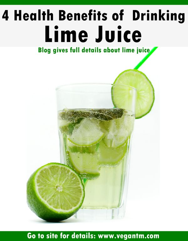 4 Benefits Of Lime Juice