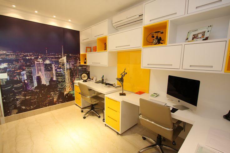 escritório, inspiração de escritório, decoração escritório. Projeto de Arquiteta Cristiane Vassoler