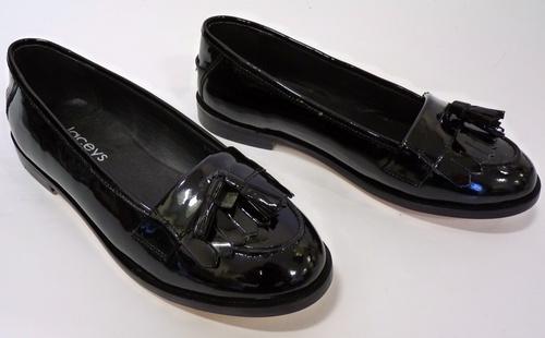 'Jennifer' - Womens Mod Tassel Loafers by LACEYS