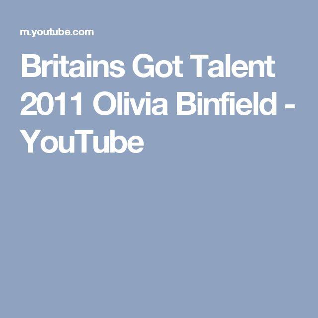 Britains Got Talent 2011 Olivia Binfield - YouTube