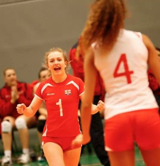 Team England scores at the qualifier for the 2014 CEV U19 Volleyball European Championship - Women