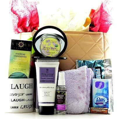 Help With Healing Get Well Gift Basket