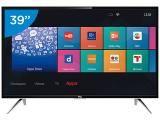 """Smart TV LED 39"""" TCL Full HD L39S4900FS - Conversor Digital Wi-Fi 3 HDMI 2 USB"""