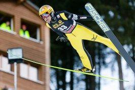 Noriaki Kasai aus Japan ist der älteste Teilnehmer beim FIS Skispringen Weltcup in Engelberg / Schweiz | Fotograf Kassel http://blog.ks-fotografie.net/pressefotografie/fis-skispringen-engelberg-schweiz-fotografiert/