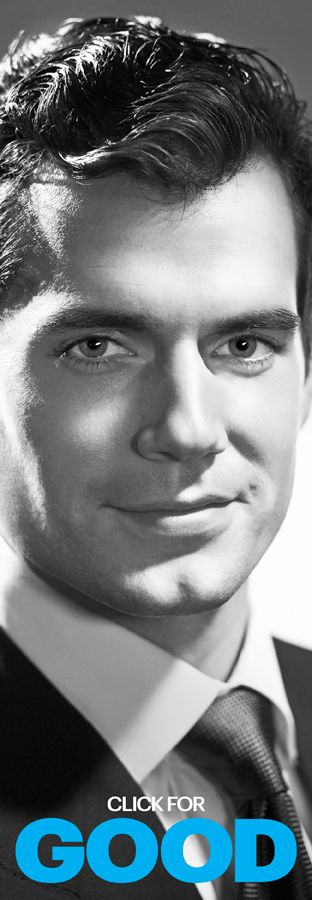 Henry Cavill.. Very nice article if you car to read..