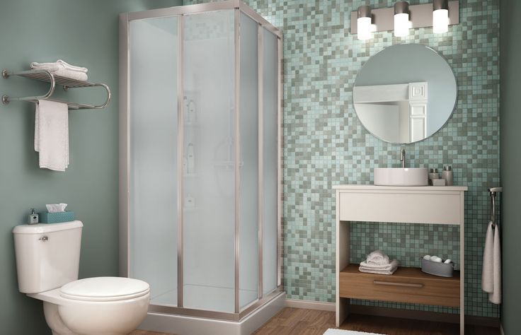 Corner Shower At 32 X 32 It 39 S One Of The Smallest Corner Shower