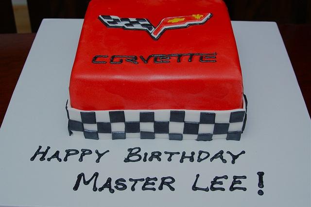 Corvette Cake by simmiecakes, via Flickr