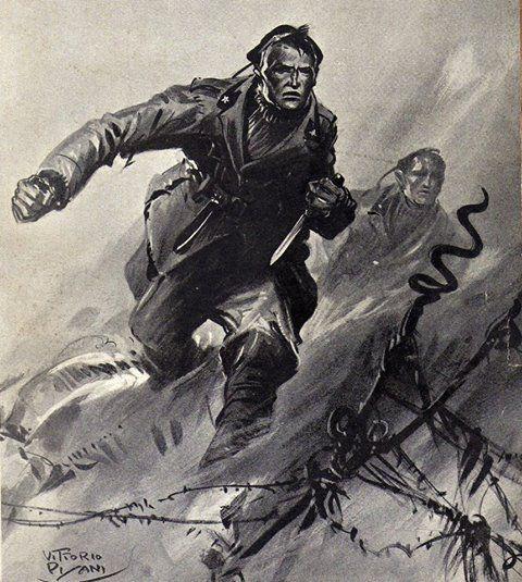"Italian WW1 ""Arditi"" Royal Italian Army elite storm troops that translates as ""The Daring Ones""."