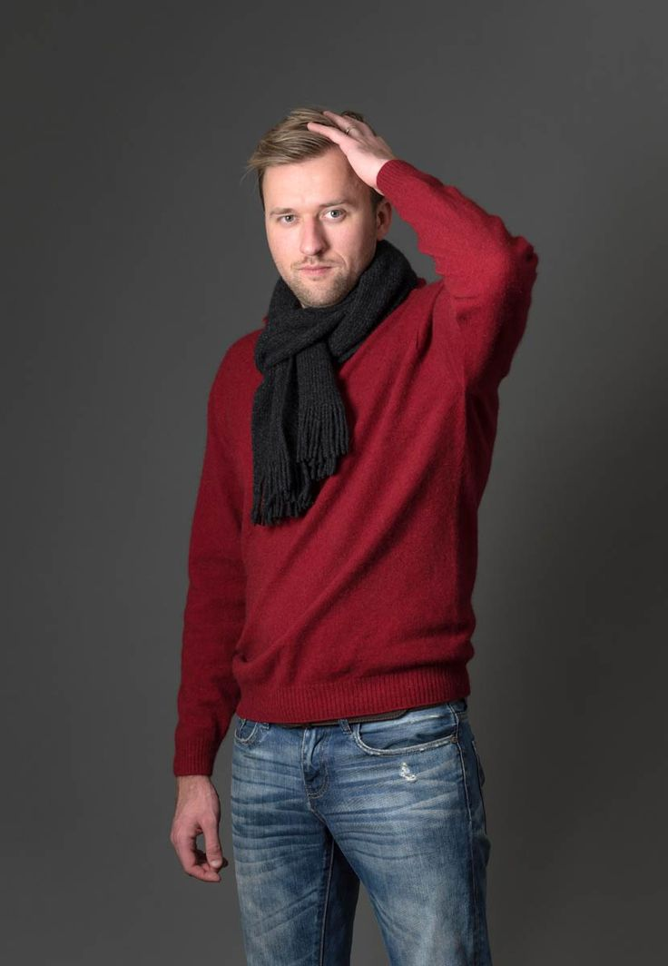 Wonderful mens knitwear online. Warm and soft merino wool. Great office wear or casual wear for guys. Available online from Gorgeous Creatures.