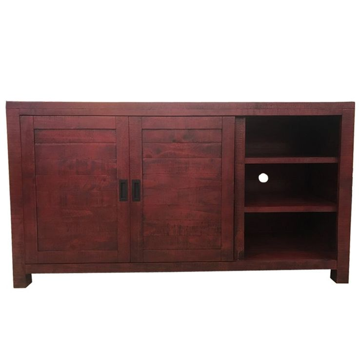 """Glenwood Red 64"""" TV Stand 