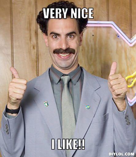 Borat I Like Meme