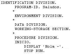A caballo entre la diplomatura y la licenciatura, debido a una oferta de trabajo relacionada con la contabilidad y la informática, me dieron unas clases privadas sobre el lenguaje COBOL, Anda por la estantería el libro que adquirí, garabateado y subrayado.